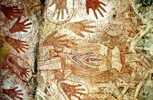 Ancient Pictographs HB-32a